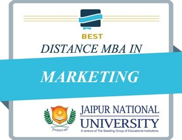 Top College For Mba In Marketing In India by Jaipur National Distance Education Mba Studykey