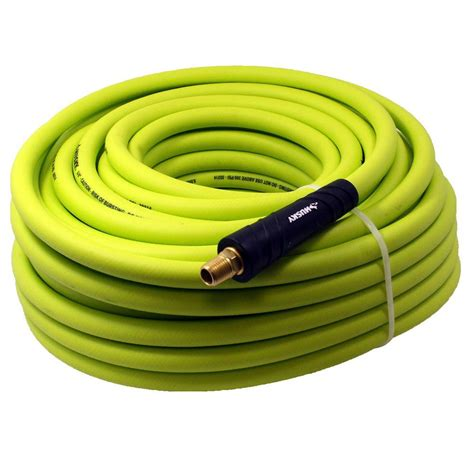 husky 3 8 in x 100 ft hybrid air hose 575 100a hom the home depot