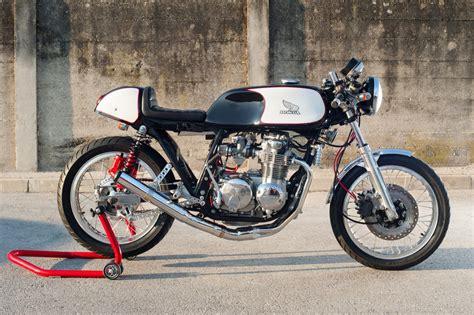 classic honda a classic honda cb550 cafe racer