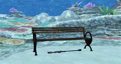 underwater bench teaser by commandera9 on deviantart
