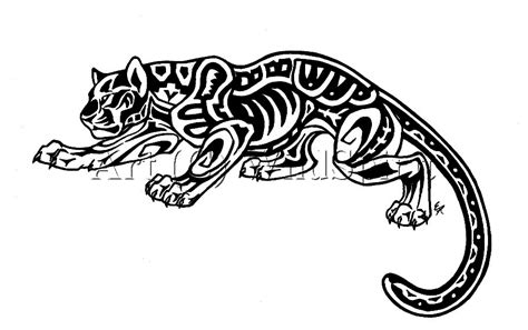 aztec jaguar tattoo designs aztec tattoos and designs page 223
