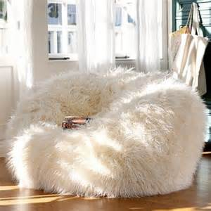 faux fur bean bag extremely comfy beanbag chair