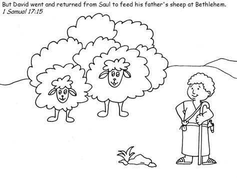 David The Shepherd Boy Coloring Pages Printable David The Shepherd Boy Http Www Fatherjacob Org by David The Shepherd Boy Coloring Pages Printable