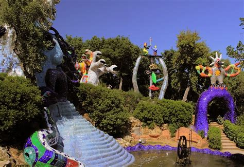 giardino tarocchi capalbio giardino dei tarocchi a capalbio arte moderna in maremma