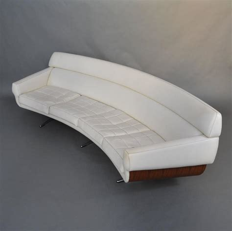 sofa germany extraordinary curved four seat sofa by martin stoll