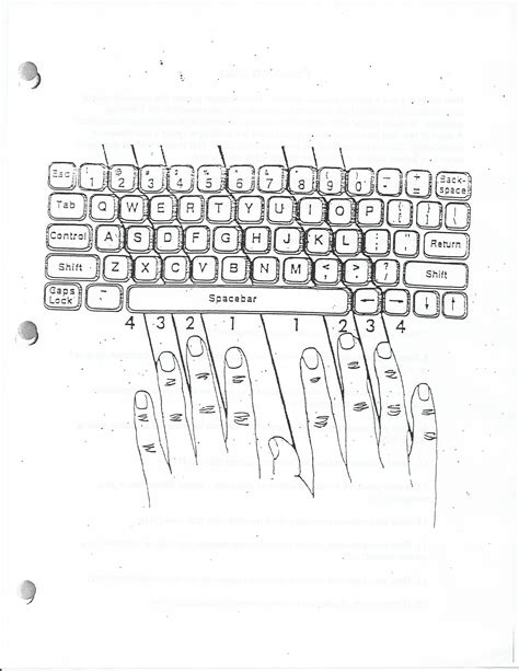 Keyboarding Worksheets by Computer Literacy Assignments Mr York S Web Page