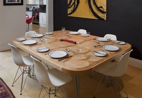 12 TileTable laid for Dinner   Home Design, Garden