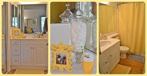 Yellow amp gray bathroom home decorating pinterest grey bathrooms kid bathrooms and bath