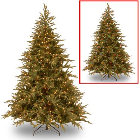 what is a hinged artificial christmas tree national tree pre lit 6 feel real frasier grande hinged artificial tree with 800 dual