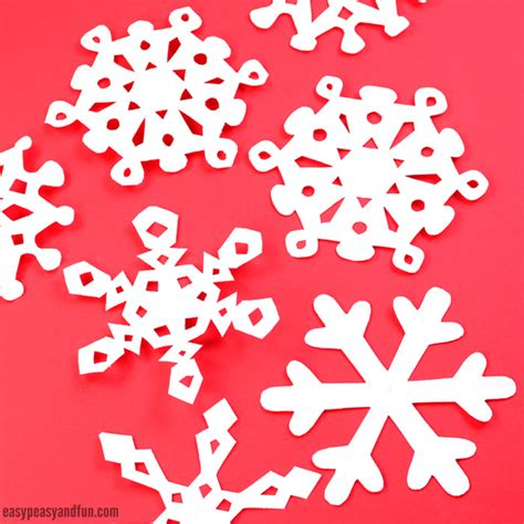 How To Prepare Paper Crafts - how to make paper snowflakes pattern templates easy