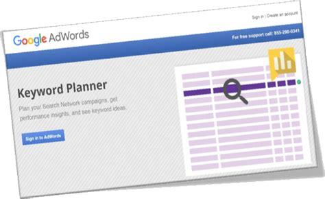 adsense keywords planner seo for site content webnots