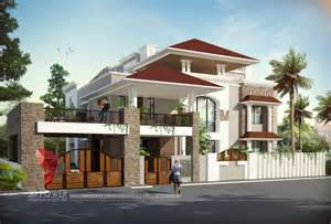 Bongalow by 3d Bungalow Design 3d Modern Bungalow Rendering