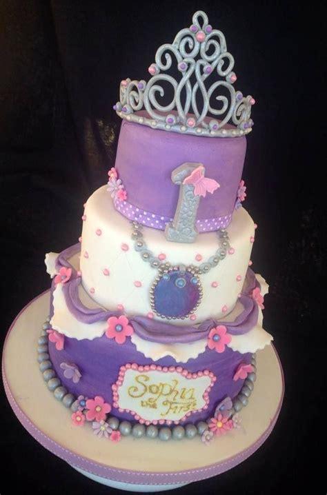 tier sophia   birthday cake cakes disney princess pinterest birthday cakes