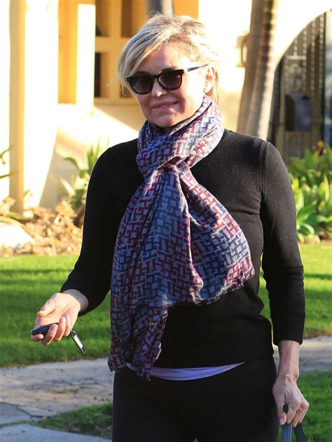 yokanda beverly hikls hair yolanda foster out and about in beverly hills 02 03 2016