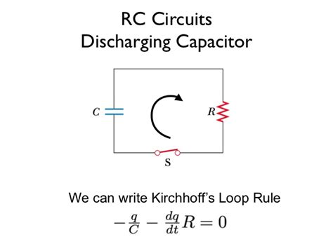 equation for capacitor charging and discharging charging and discharging a capacitor in an r c circuit equations tessshebaylo