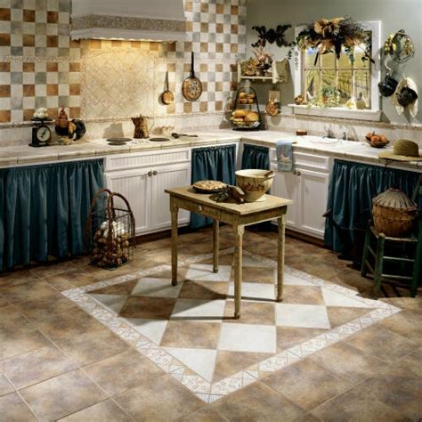 Kitchen Tiles Floor Design Ideas | installing the best floor tile designs to reflect your