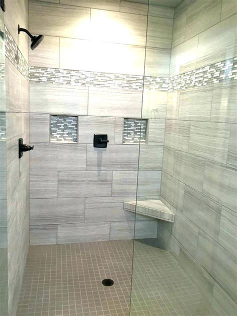 best tile for shower walls glass tile shower wall ideas
