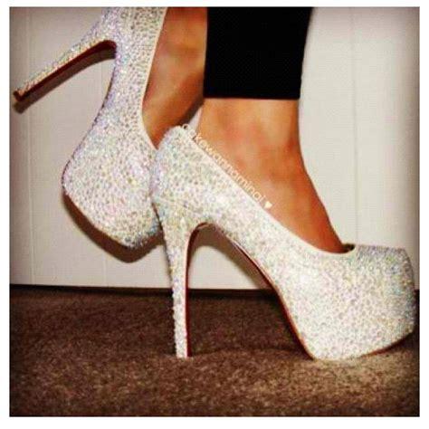 high heels with diamonds heels shoes