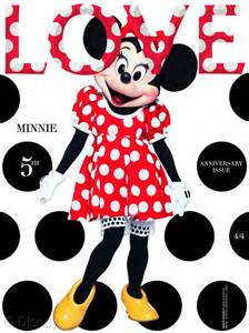 minnie mouse is a sweetie for magazine maison mouse