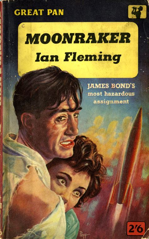 bonds books retro review moonraker fleming s third bond novel
