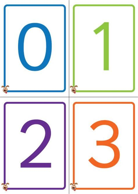 Gift Card Numbers Free - best 25 number flashcards ideas on pinterest free printable numbers very hungry