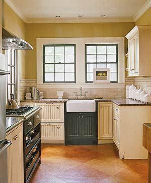 cocina pequena  calida muebles de cocina