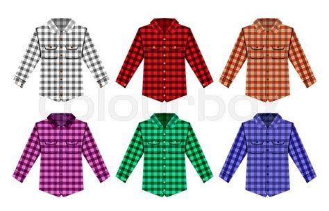 pattern green lumberjack shirt lumberjack check shirt lumberjack old fashion vector