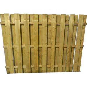 8 Ft Trellis Panels Goodfellow 6 Ft X 8 Ft Treated Flat Top Shadow Box Fence