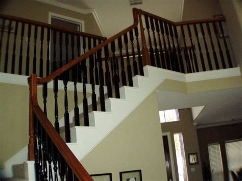 painting banister spindles 10 best staircase images on pinterest home ideas