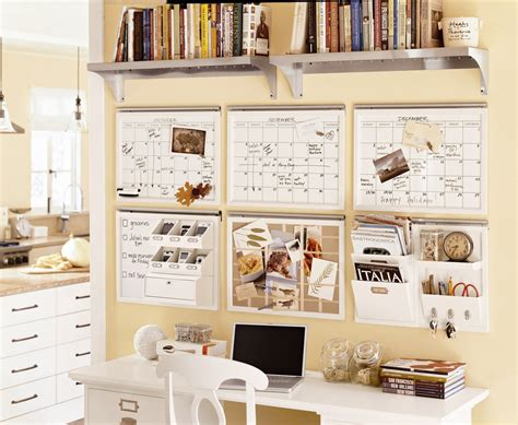 pottery barn organization center ideas desk after