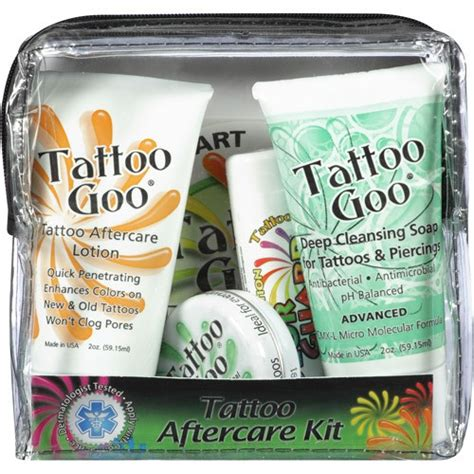 tattoo goo for tanning tattoo goo complete aftercare kit