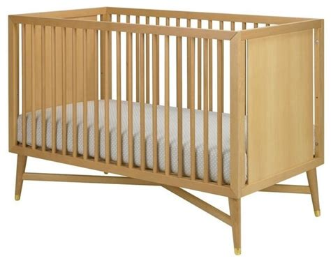 contemporary baby cribs dwellstudio mid century crib modern cribs portland by fawn forest