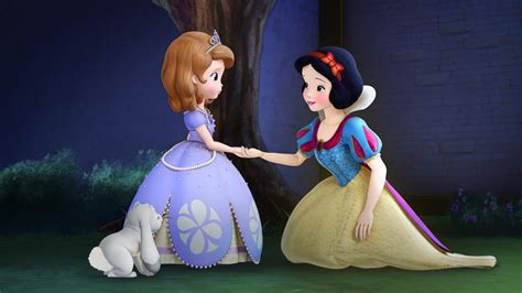 Plastisin Sofia And Snow White sofia the the enchanted feast on dvd sippy cup