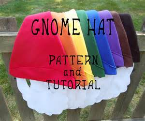 gnome hat pattern and tutorial from mysticmoor on etsy studio