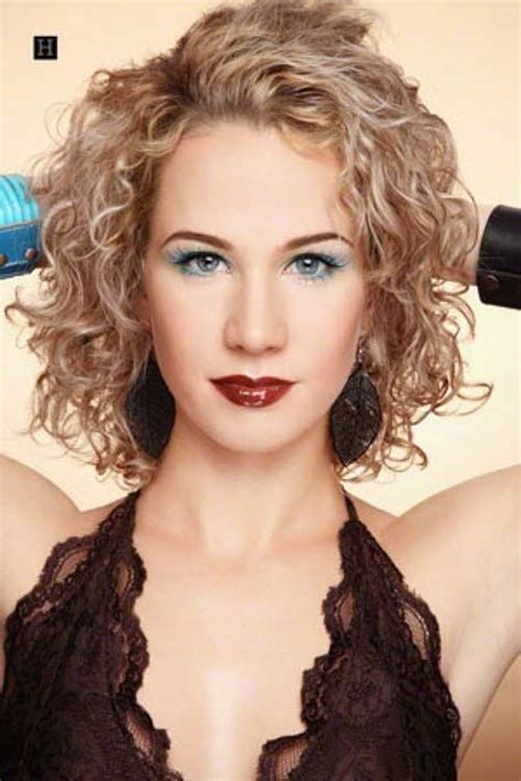 perm mid length hair on lady over 50 15 curly perms for short hair short hairstyles 2017