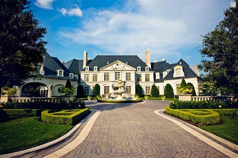 mansions in dallas bob thompson homes homes of the rich