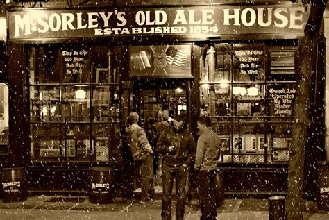 the back room nyc menu mcsorley s ale house photograph by randy aveille