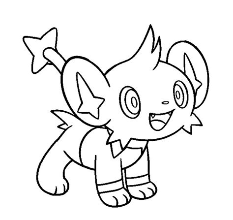 pokemon coloring pages luxray shinx base 2 by conythewolf on deviantart