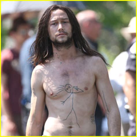 joseph gordon levitt is hesher shirtless joseph gordon