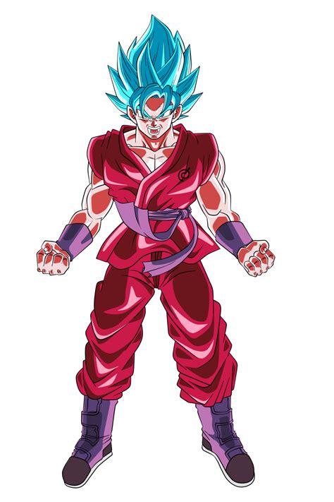 imagenes de goku super kaioken son goku super saiyan blue kaioken x10 by nekoar on