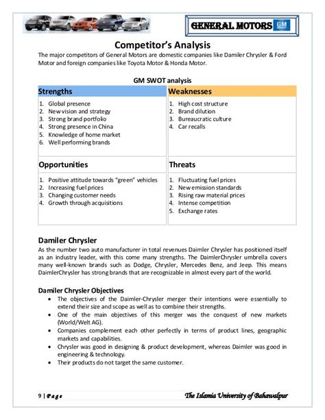 strategic analysis report template strategic analysis report swot analysis template swot analysis all form templates sle