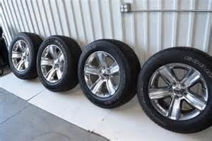 Tires And Rims Dodge Ram 1500 Dodge Ram 1500 20 Inch Wheels Tires Package Oem