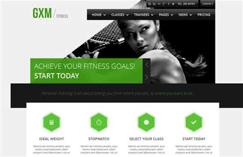Fitness Website Design Templates 80 Best Fitness Gym Website Templates Free Premium Freshdesignweb