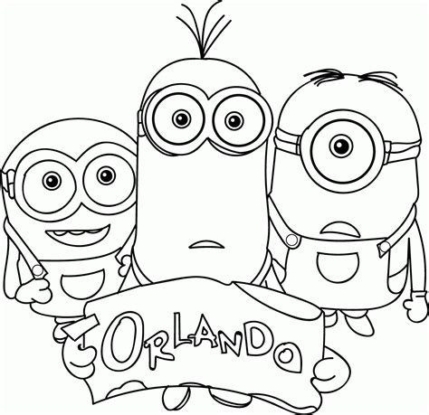 all minions coloring pages minions coloring pages coloring home