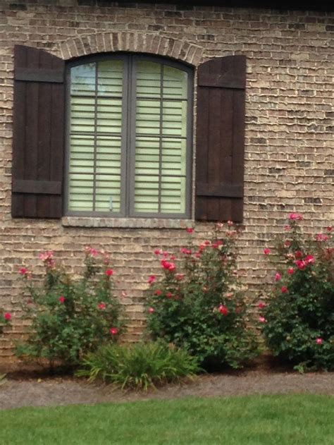 shutters on brick house 97 best home parent s house images on pinterest corks