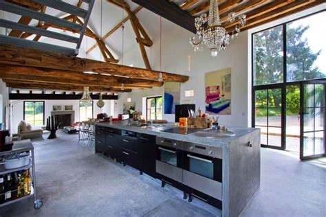 Modern Rustic Interior Design Ideas by Rustic Meets Modern In An Barn Decoholic