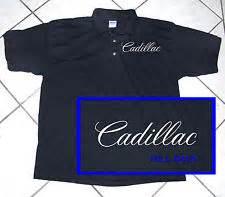 Cadillac Golf Shirt Cadillac Polo Shirt Ebay