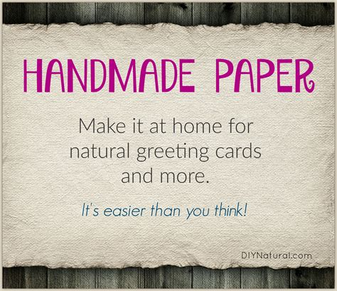How To Make Handmade Paper At Home - paper paper for greeting cards