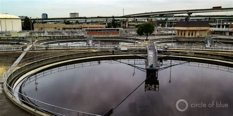 Wtp Clarifier oakland s water treatment plant generates its own energy