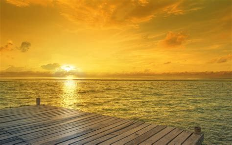 beach sunrise horizon wallpapers hd wallpapers id